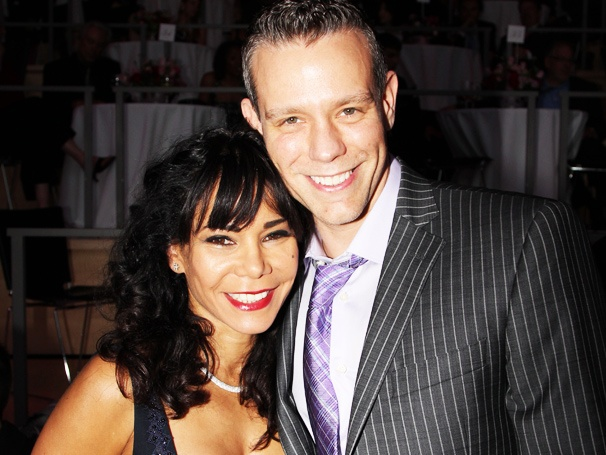Rent Reunion! Adam Pascal and Daphne Rubin-Vega Have a 'Fantastic' Time Together as Broadway.com Award Presenters