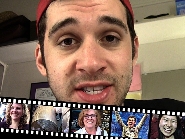 Boy's Life: Backstage at 'Peter and the Starcatcher' with Adam Chanler-Berat Episode 6: Capturing Fan Frenzy