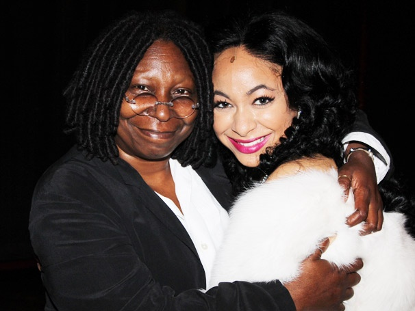 Double Deloris! Whoopi Goldberg Visits Raven-Symon at Sister Act