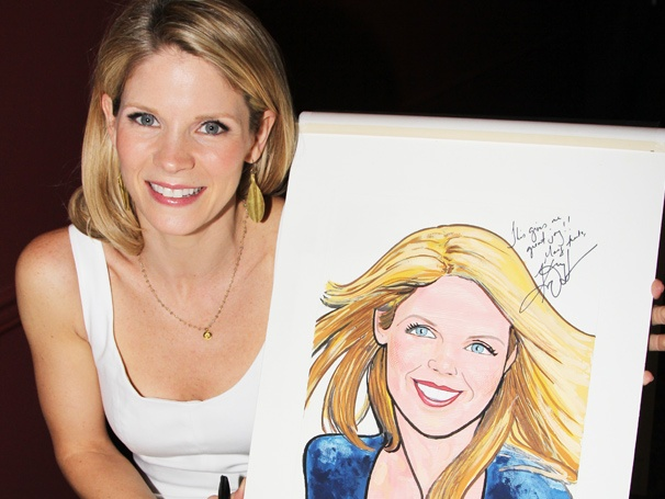 It's Marvelous! Sardi's Unveils a Portrait of Nice Work If You Can Get It Star Kelli O'Hara