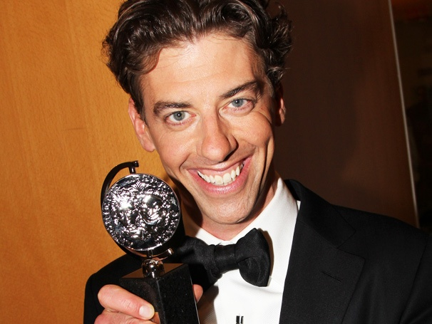 Smash Star Christian Borle Wins Tony Award for High-Comedy Turn in Peter and the Starcatcher