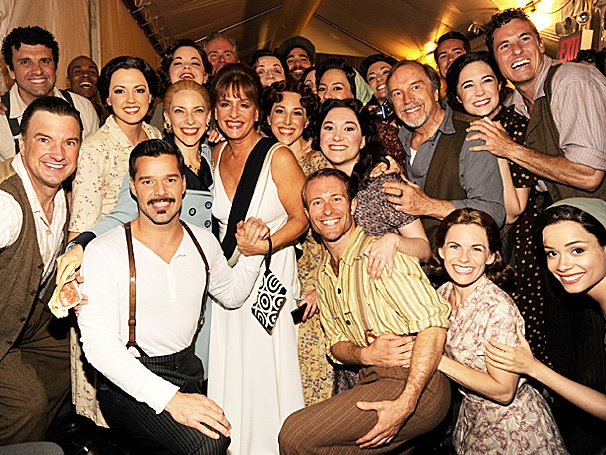 You Must Love Her! Patti LuPone Meets the Cast of Broadways New Evita