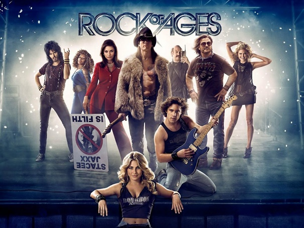 Rock of Ages Movie, Starring Tom Cruise and Julianne Hough ... Rock Of Ages Movie