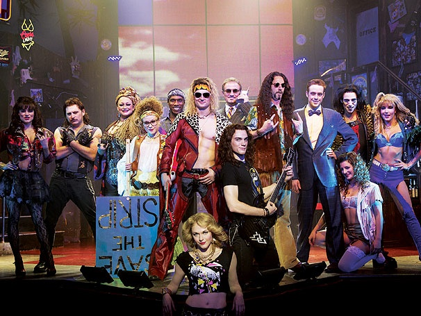 Get a First Look at Justin Matthew Sargent, Ashley Spencer & the Awesome New Cast of Rock of Ages