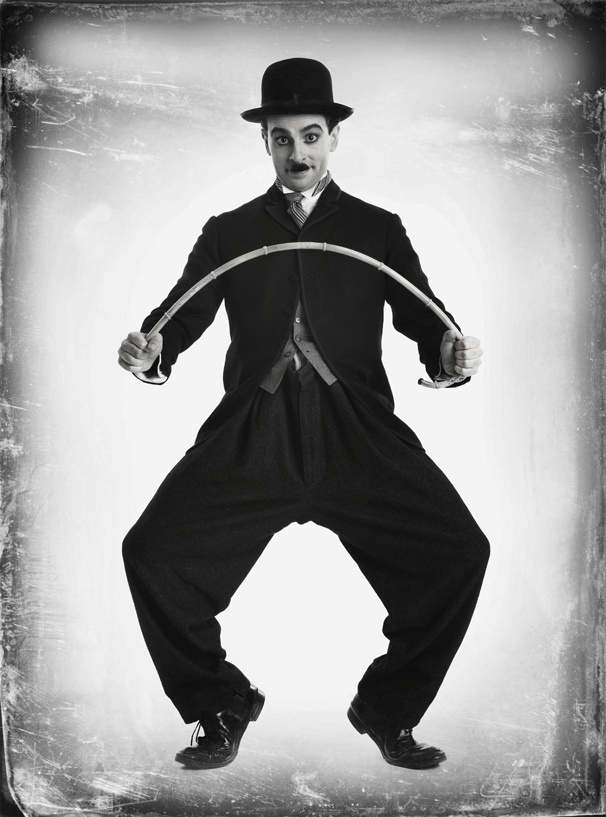 Meet the Tramp! Get a Sneak Peek of Rob McClure in the New Musical Chaplin on Broadway