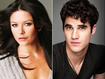 Catherine Zeta-Jones as Darren Criss' Mom?! Glee Creator Ryan Murphy's Twitter Musings, Spoilers & More