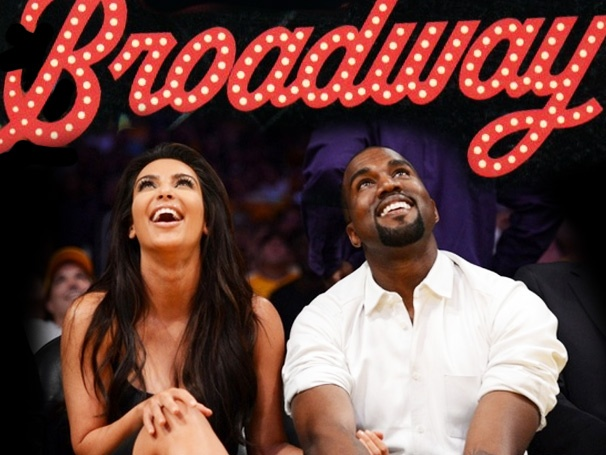 What If... Kim Kardashian & Kanye West Came to Broadway? Five Ridiculous Outcomes