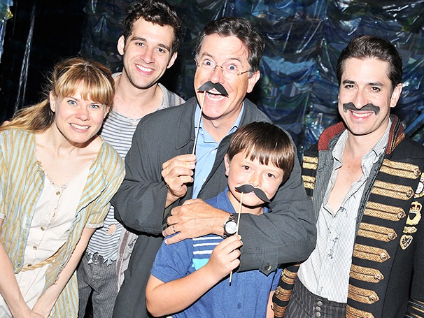 Stephen Colbert Reports From the High Seas at Broadway's Peter and the Starcatcher