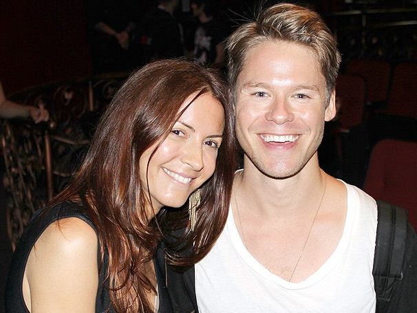 Michelle Clunie Visits Her Queer as Folk Co-Star Randy Harrison at Silence! The Musical