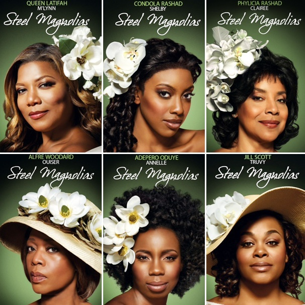 Get a First Look at Portraits of Queen Latifah, Condola Rashad & the Cast of TV's Steel Magnolias