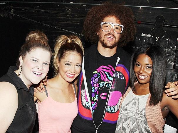 LMFAO and Berry Gordy Bring the Party Rock Backstage at Bring It On