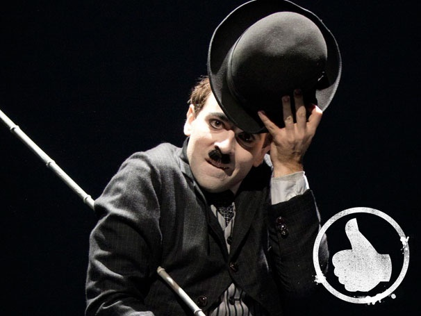 Thumbs Up! Rob McClure Delivers a 'Star Is Born' Performance as Charlie Chaplin in Chaplin