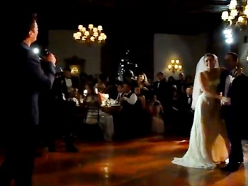 The Ultimate Wedding Singer! Watch Jonathan Groff Surprise a Lucky Bride with Wedding Day Serenade