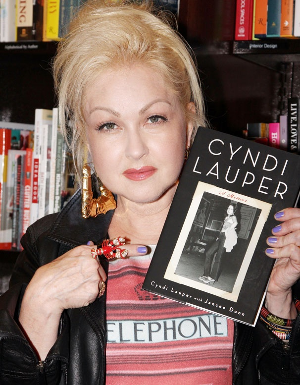 Broadway-Bound Kinky Boots Composer Cyndi Lauper Celebrates Her New Memoir