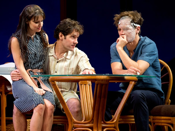 Paul Rudd and His Grace Co-Stars Kept it Together as a Theatergoer Vomited All Over the Audience