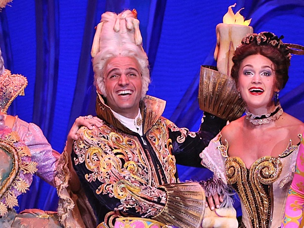 Beauty and the Beast's Hassan Nazari-Robati Illuminates the Stage as Lumiere on Tour