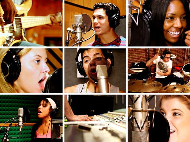 Exclusive! Watch the Bring It On Cast Record 'Do Your Own Thing' for the New Album