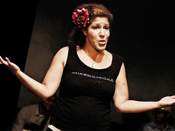 Rain Pryor on How Her Jewish Mother and Genius Father Richard Inspired Her Solo Show Fried Chicken and Latkes 