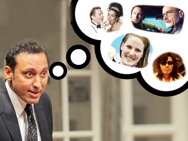 Disgraced & Daily Show Star Aasif Mandvi Shares His Quirky Obsessions and Explains Why You Might Be an A-Hole