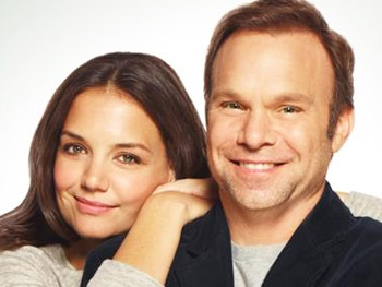 Dead Accounts' Norbert Leo Butz Describes How Meeting Co-Star Katie Holmes Felt Like an Internet Date
