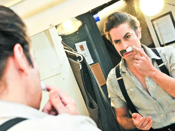 Peter and the Starcatcher Guys Prep to Grow Moustaches for Movember