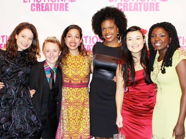 Let's Hear It for the Girls! Eve Ensler's Emotional Creature Opens Off-Broadway