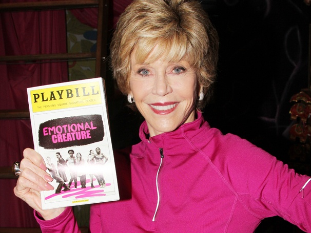 Jane Fonda Embraces the Girl Power Message of Emotional Creature