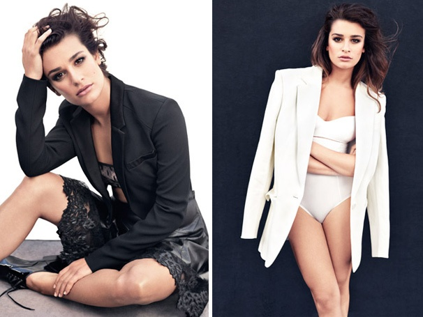 Lea Michele Gets Sexy and Denies She's a Diva in Marie Claire Cover Story