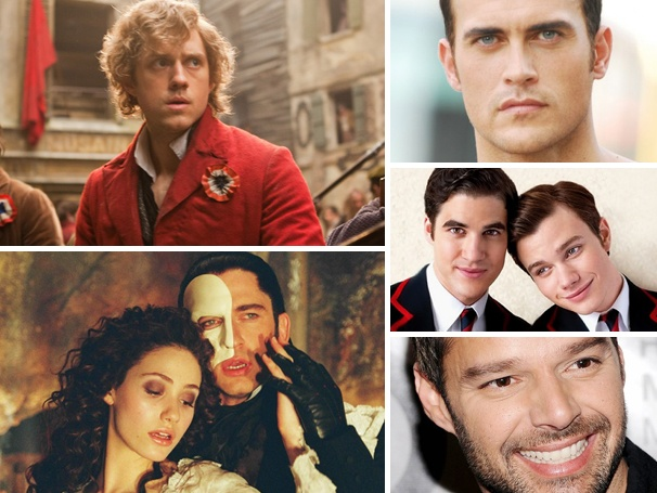 Most Popular Polls of 2012 Center on Favorite Glee Couple, Broadway's Sexiest Men & More