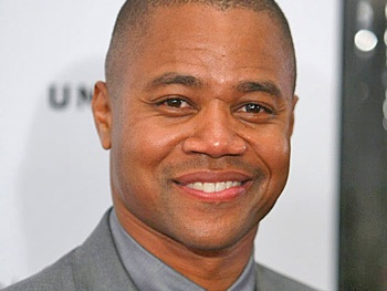 The 49-year old son of father Cuba Gooding, Sr. and mother Shirley Gooding, 178 cm tall Cuba Gooding Jr. in 2017 photo