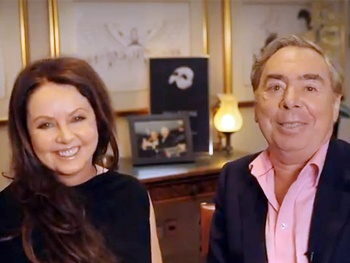Phantom Composer Andrew Lloyd Webber & Original Star Sarah Brightman Reunite in Cheeky 25th Anniversary Video
