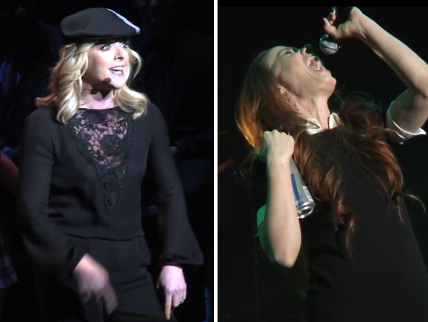 Exclusive Video! See Sierra Boggess Channel Britney Spears & Jane Krakowski Rap In the Heights at MCC's Miscast