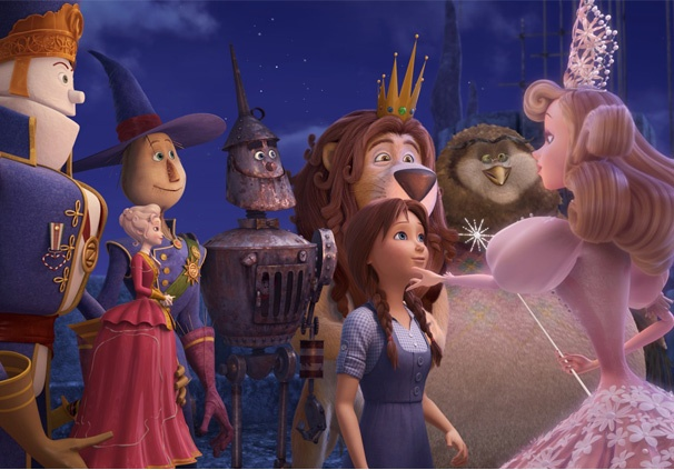 Legends of Oz: Dorothy's Return, Starring Lea Michele, Megan Hilty, Bernadette Peters & More, to Hit Theaters in Early 2014