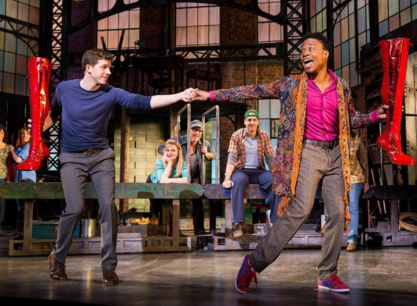 Ready Boots? Start Walking! Kinky Boots, Starring Billy Porter & Stark Sands, Opens on Broadway