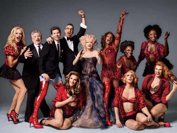 Cyndi Lauper, Harvey Fierstein and the Cast of Kinky Boots Let Loose in Vanity Fair