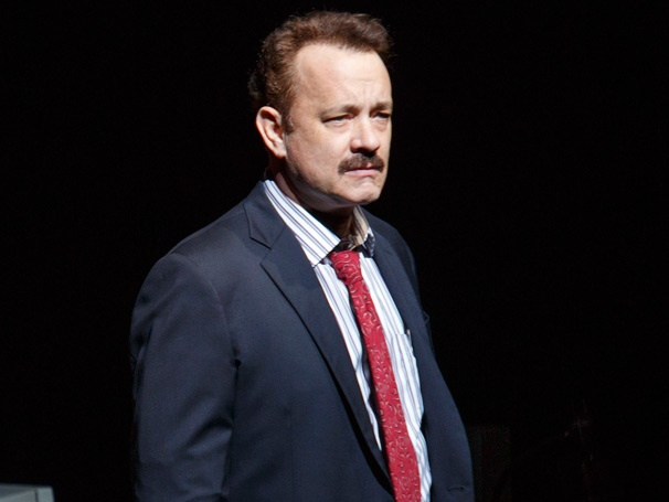 Hes a Media Sensation! Get a First Look at Tom Hanks Broadway Debut in Lucky Guy