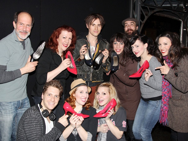 Spider-Mans Reeve Carney Trades Superhero Tights for High Heels Backstage at Kinky Boots
