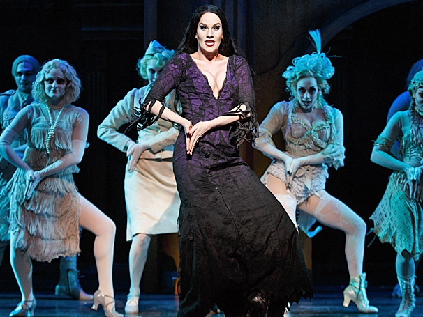KeLeen Snowgren Embraces with Her Sultry Side as Morticia in The Addams Family on Tour