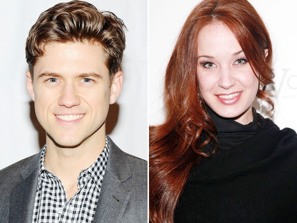 Aaron Tveit & Sierra Boggess Tapped to Present at the 2013 Broadway.com Audience Choice Awards