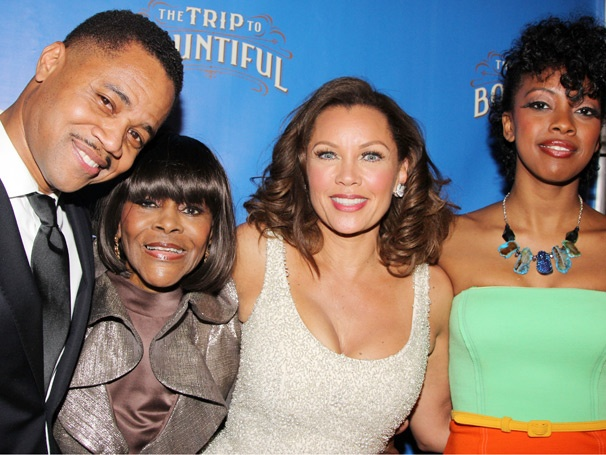 It's a Beautiful Opening Night Celebration for The Trip to Bountiful, Starring Cicely Tyson & Vanessa Williams