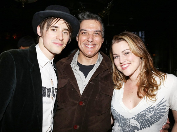 How Appropriate! Robert Cuccioli  Celebrates Spider-Man Star Reeve Carney's Birthday at Jekyll & Hyde Club