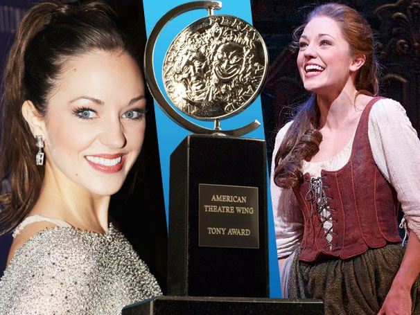 Laura Osnes Reacts to Her Tony Nod by 'Sobbing' for Cinderella Co-Star Santino Fontana 