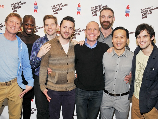 Check Out David Drake, B.D. Wong, Rory O'Malley and the Benefit Cast of The Night Larry Kramer Kissed Me