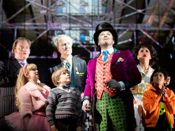 Grab a Golden Ticket and Get a First Look at Charlie and the Chocolate Factory on the West End
