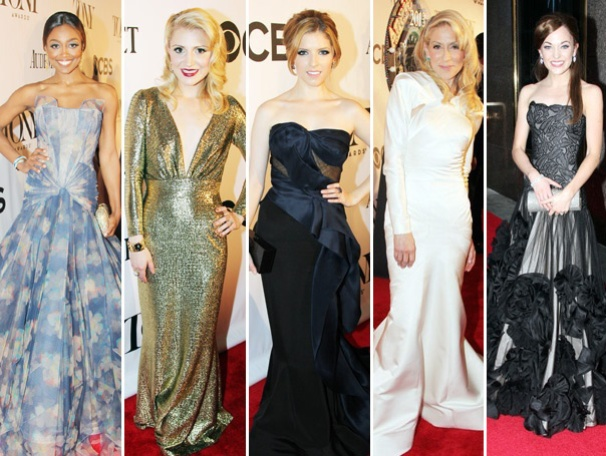 Fashion Superstars! Broadway.com Ranks the Best Dressed Ladies (and Men!) at the 2013 Tony Awards