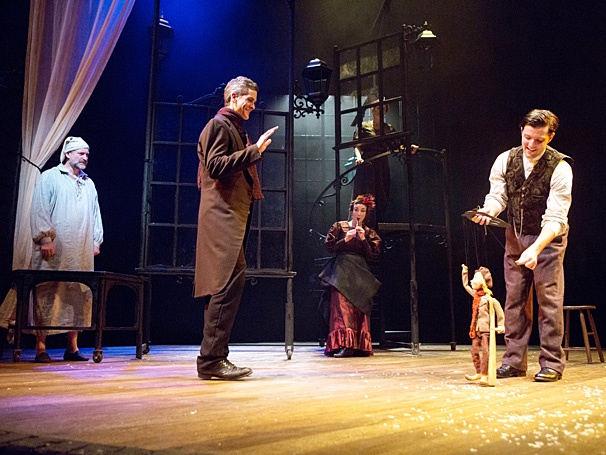 New Adaptation of Charles Dickens' A Christmas Carol Begins Performances Off-Broadway | Broadway ...
