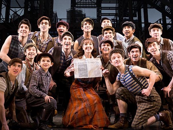 Newsies Broadway Vs Tour