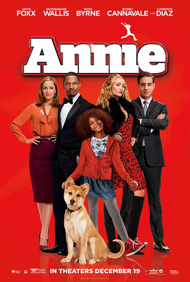 annie�s here check out the poster for the new movie