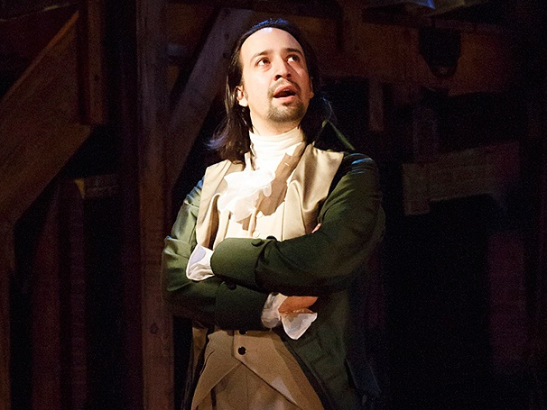 Lin-Manuel Miranda in his musical