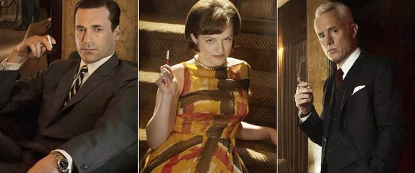 Photo Flashback: Mad Men (and Woman) Stars on Stage!